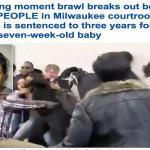 """ترجمة حصرية : النطق بالحكم على امرأة قتلت طفلاً عمره  """"7 أسابيع"""" يتسبب في مشاجرة عنيفة داخل محكمة أمريكية!"""