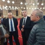 """شاهد: وزير إسرائيلي يزور مسجد """"محمد علي"""" في مصر ويلتقط الصور بداخله !"""