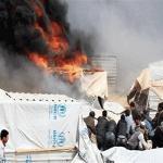 نازحة سورية تحرق نفسها و3 من أطفالها في مخيم الركبان والسبب صادم!