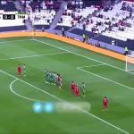 """بالفيديو .. سلطنة """"عمان"""" تسحق تركمانستان بالثلاثة في كأس آسيا وتتأهل لدور الـ 16"""