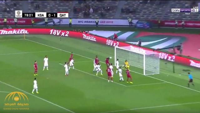 بالفيديو : مباراة (السعودية 0 / قطر  2 )  الشوط الثاني .. كأس آسيا 2019