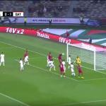 بالفيديو : الأخضر السعودي  يخسر أمام قطر بهدفين في كأس آسيا 2019