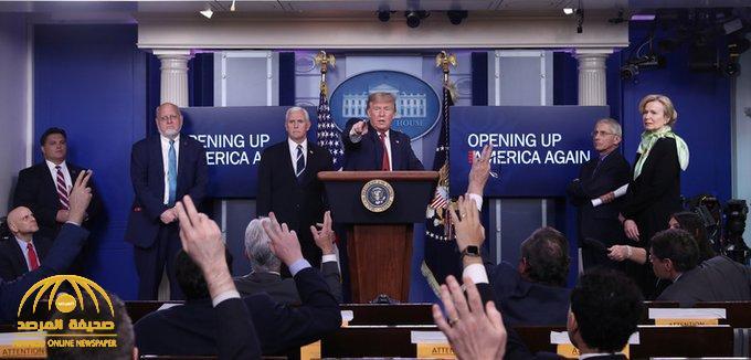 ترامب يرد على سؤال يتعلق برمضان والمساجد بأمريكا في ظل أزمة كورونا