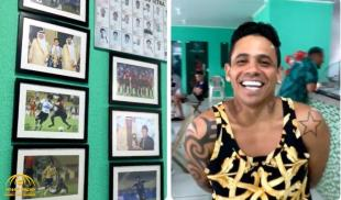 """Watch.. Former glory player """"Jose Alton"""" establishes an academy in Brazil with the Saudi logo and his son sings the national anthem"""