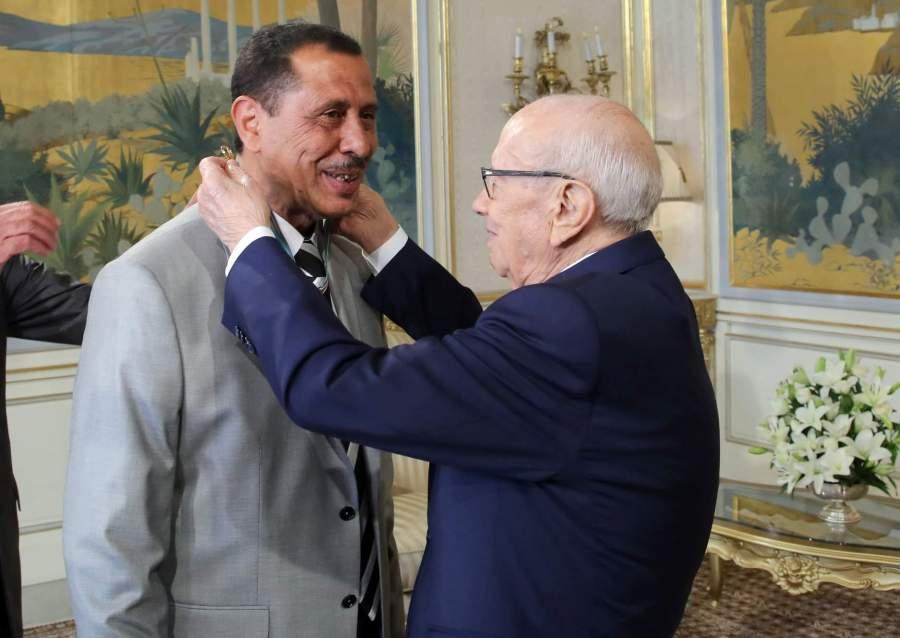 M. Slim Laghmani, décoré des insignes de l'Ordre de la Réublique de Tunisie