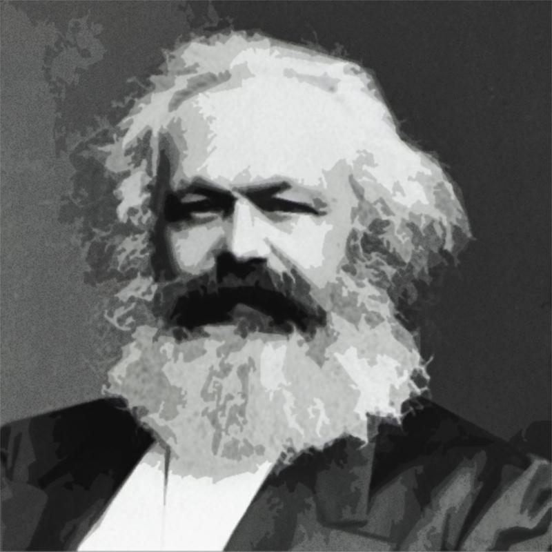 كارل ماركس متبني الإلحاد