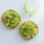 mashed-avocado-lime-toast