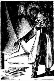 Gogol quema el manuscrito