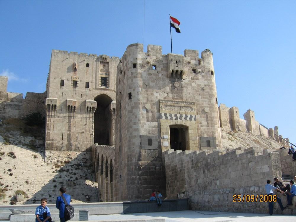 La Ciudadela, en Aleppo. (3/5)