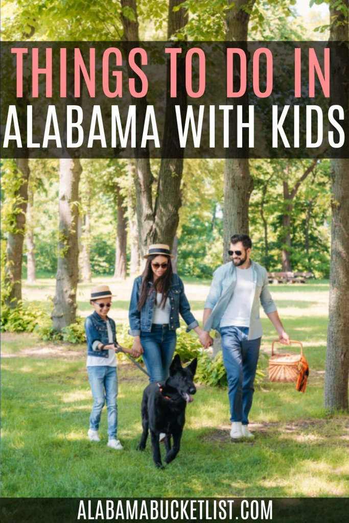 Whether you're visiting or are a resident, these things to do in Alabama with kids will make for fun outings for the entire family! #kids #alabama #family #travel #sweethomealabama