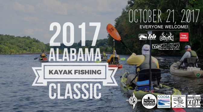 the 2017 Alabama Kayak Fishing Classic
