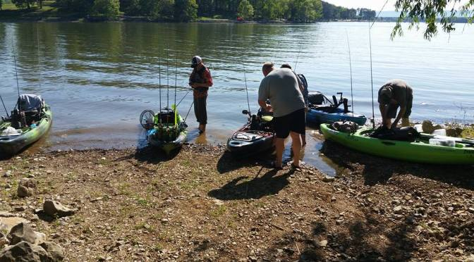 Tennessee Valley Kayak Anglers hosting 3 events on Guntersville