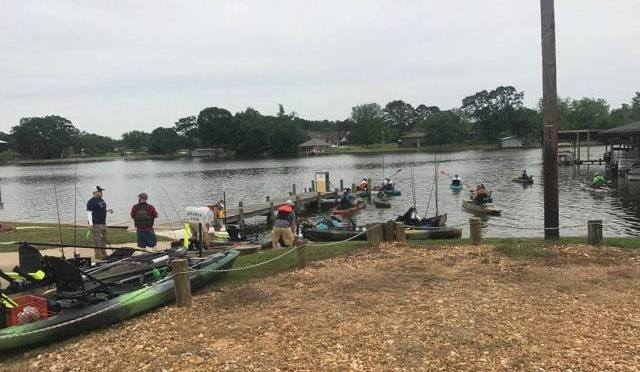 Results:  Coosa River Kayak Anglers Throwdown May 3rd