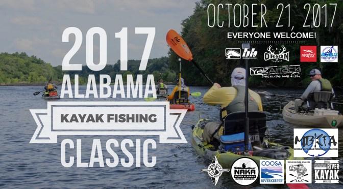 Alabama Kayak Fishing Classic is October 21st!