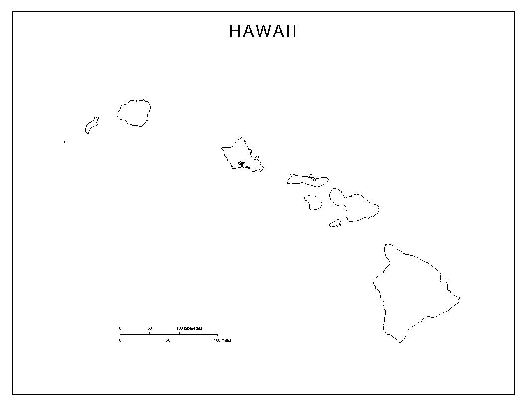 Maps Of Hawaii