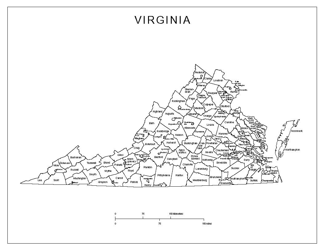 Maps Of Virginia