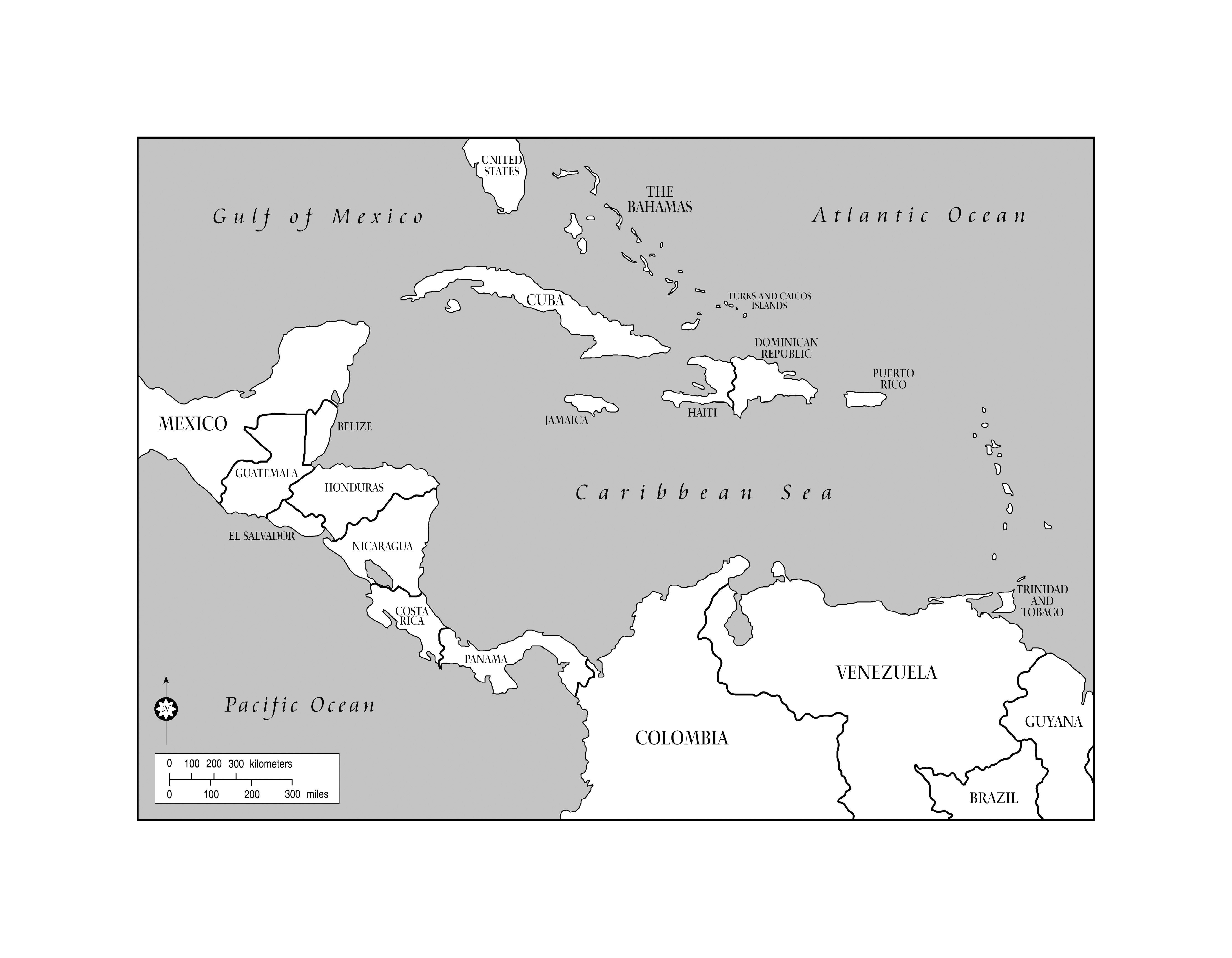 Caribbean Islands By Population Quiz