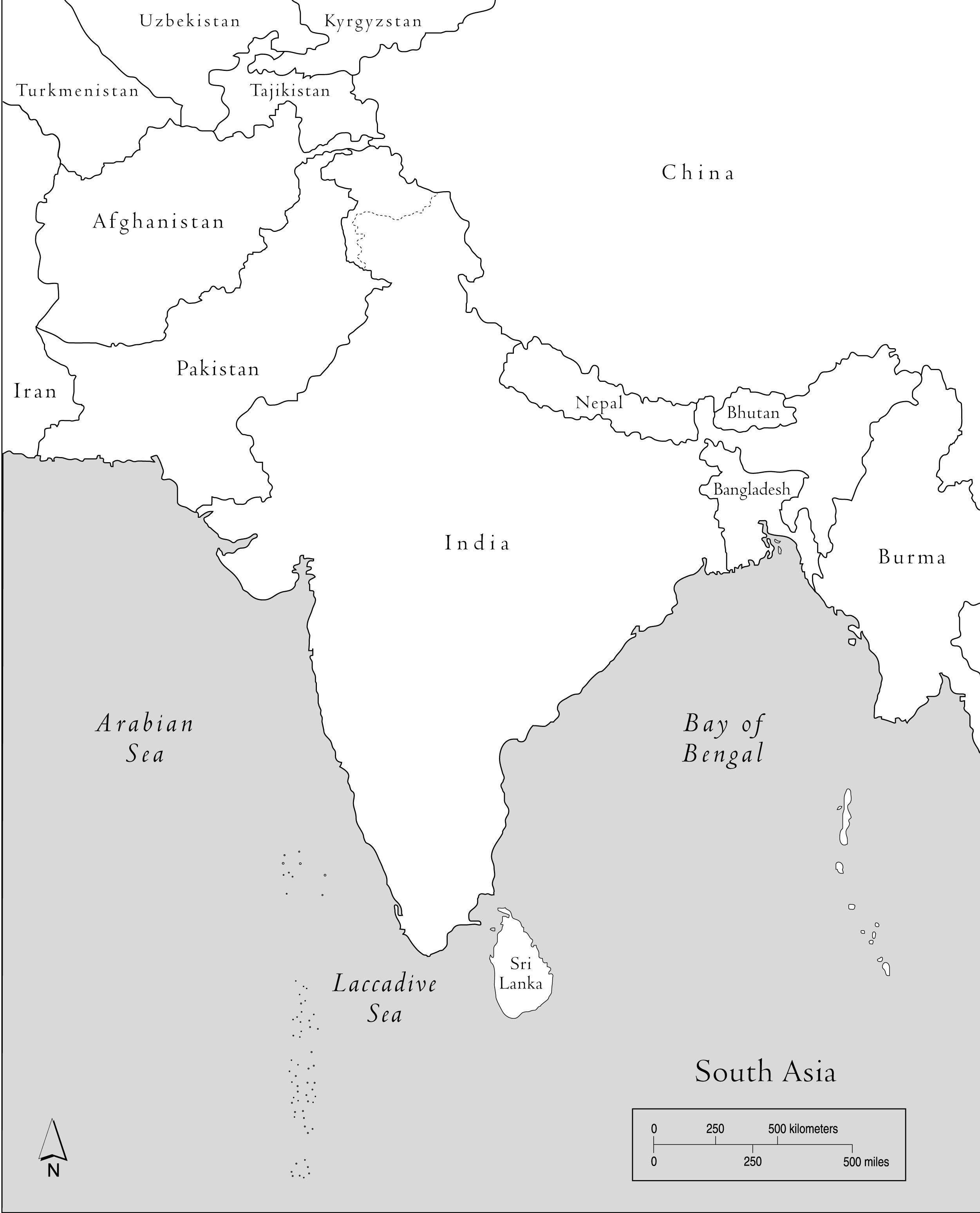 Blank Map Of Saudi Arabia