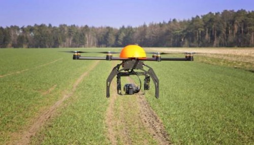 Precision agriculture is seen as one of the key future uses of unmanned aircraft systems.