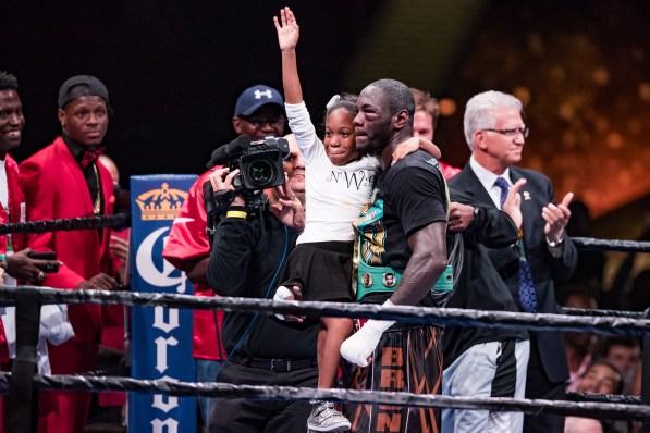 Deonta Wilder defends his WBC title against Johann Duhaupas in Birmingham Sept. 26 (Nik Layman/Alabama NewsCenter)