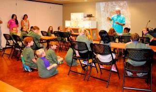 Children learn about nature at NaturePlex. (Billy Brown/Alabama NewsCenter)