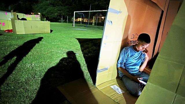 A look inside Mobile's Cardboard City