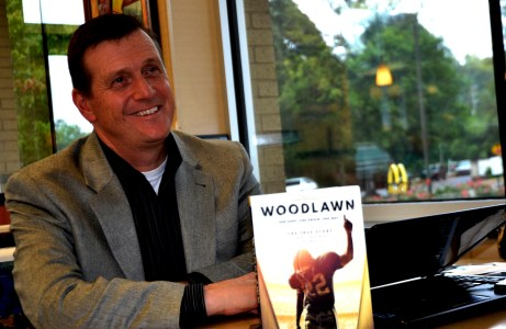 """Todd Gerelds' """"Woodlawn"""" book is the basis for the movie opening nationally this weekend. (Solomon Crenshaw Jr./Alabama NewsCenter)"""
