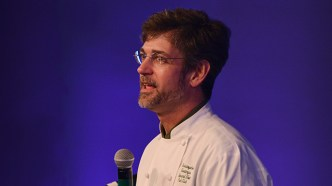 Chef Chris Hastings of Hot and Hot Fish Club and OvenBird is among the Alabama food luminaries featured on Á la Carte Alabama. (file)
