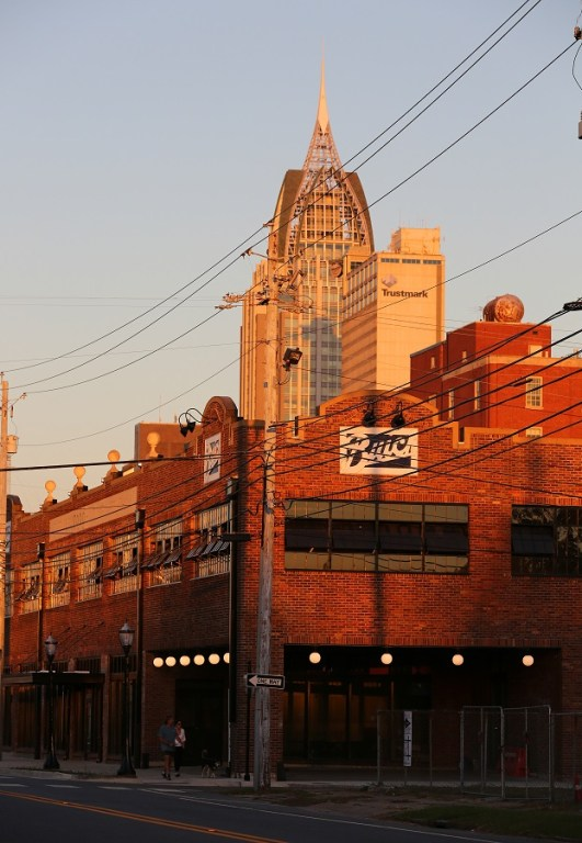 The Buick Building is part of the redevelopment of St. Louis Street in downtown Mobile. (Mike Kittrell/Alabama NewsCenter)