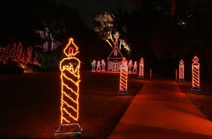 "Bellingrath Gardens and Home is celebrating its 20th year of ""Magic Christmas in Lights."" (Mike Kittrell/Alabama NewsCenter)"