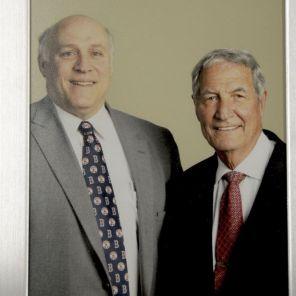 Baker is joined by former Alabama Crimson Tide head football coach Gene Stallings.