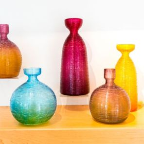 Orbix Hot Glass vases