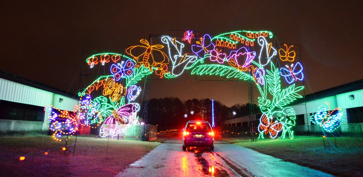 Shadracks Christmas Wonderland.Still Time To Enjoy Some Birmingham Drive Through Christmas