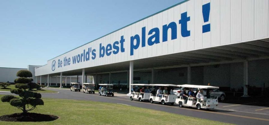 Hyundai's Alabama plant produced nearly 385,000 vehicles in 2015. (Hyundai Motor Manufacturing Alabama)
