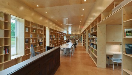 Newbern Library fills a void in Alabama's Black Belt and Hale County. (Timothy Hursley)