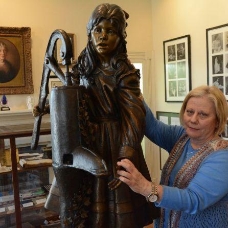 Executive Director Sue Pilkilton, The Helen Keller Birthplace in Tuscumbia. (Karim Shamsi-Basha/Alabama NewsCenter)