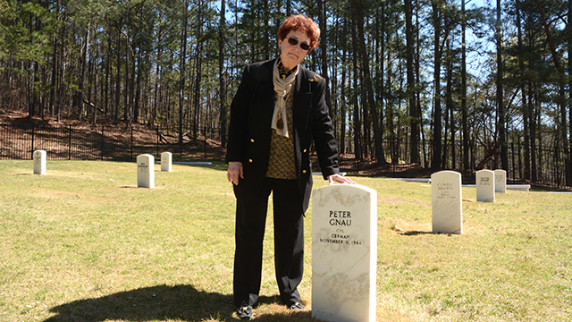 Joan McKinney preserves World War II history at an Anniston cemetery
