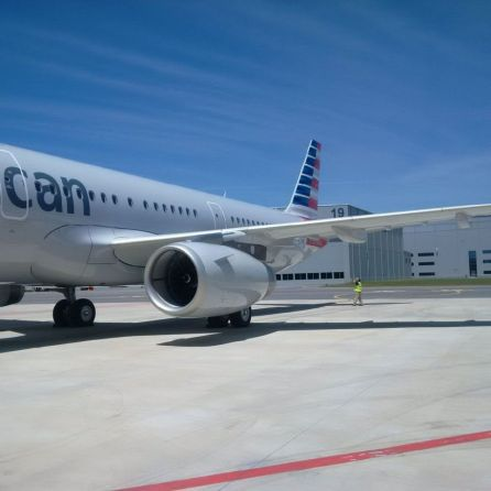 American Airlines has its first Alabama-made Airbus A321 passenger jet (Photo courtesy of Airbus)