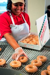 The Reimann family's JAB Holding Investment, which bought coffee giant Keurig last year, has announced a deal to buy Krispy Kreme. (Krispy Kreme)