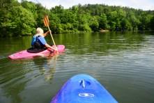 The Cahaba River is a popular place for canoes and kayaks. (Karim Shamsi-Basha/Alabama NewsCenter)