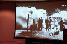 Hank Thomas survived a firebombed bus in Anniston 55 years ago. (Karim Shamsi-Basha/Alabama NewsCenter)