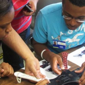 Students participate in Lawson State's Summer Enrichment Institute. (Solomon Crenshaw Jr./Alabama NewsCenter)