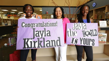 Jayla Kirkland hopes to compete in the 2020 Olympic Games. (contributed)