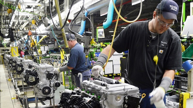 Toyota Alabama, 'engine capital of the world,' marks 15 years
