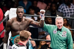 Deontay Wilder is still champion. (Nik Layman/Alabama NewsCenter)