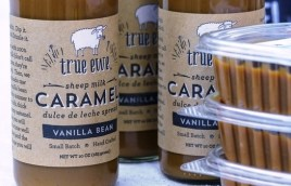 Dayspring Dairy's True Ewe Caramel is an award-winner. (Mark Sandlin/Alabama NewsCenter)