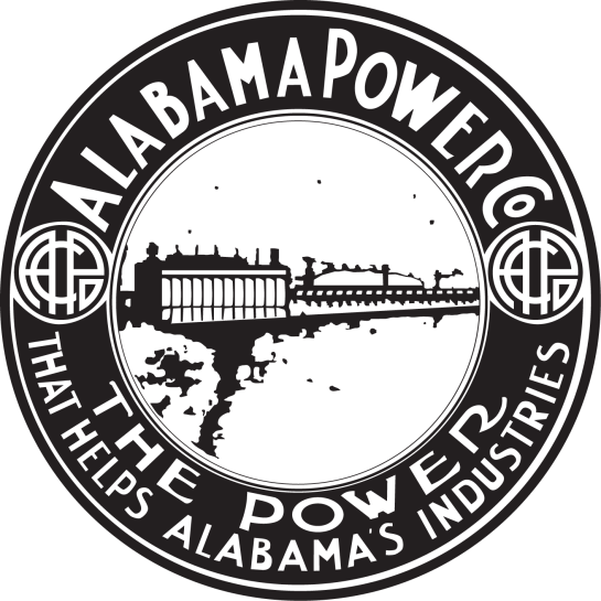 Alabama Power's logo from 1913 into the 1920s. (file)