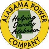 Alabama Power's logo from 1954 into the 1960s. (file)