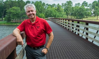 Mark Fagan at The Robert Trent Jones Golf Trail Grand National in Opelika. (Bernard Troncale/Alabama NewsCenter)