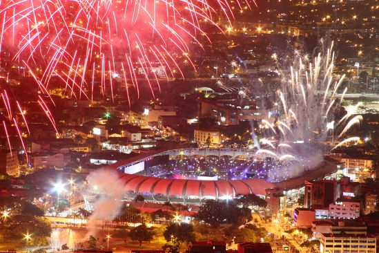 The 2013 World Games opening ceremony in Cali, Colombia. The 2021 World Games will be in Birmingham. (The World Games)